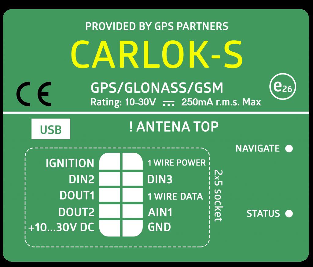 CARLOK S GPS Partners Monitoring