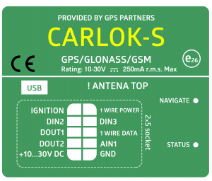 CARLOK S GPS Partners Monitoring