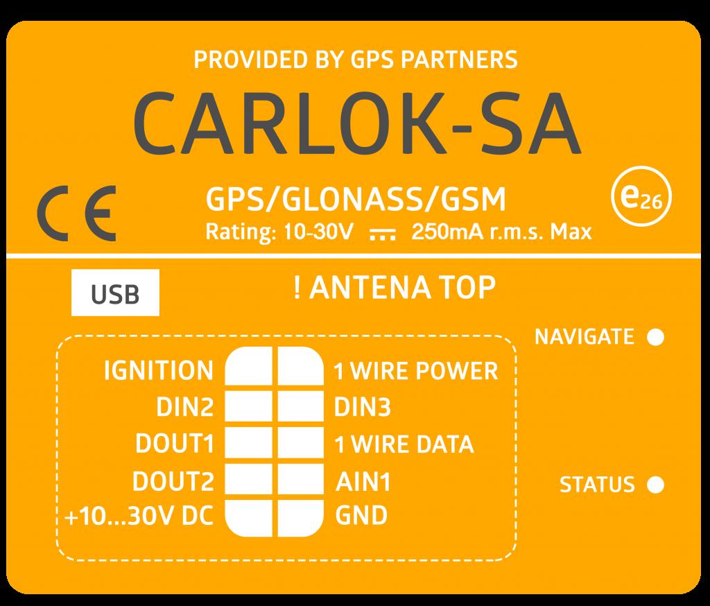 CARLOK S+A GPS Partners Monitoring